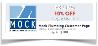 Sugar Land Plumber | Mock Plumbing Coupon