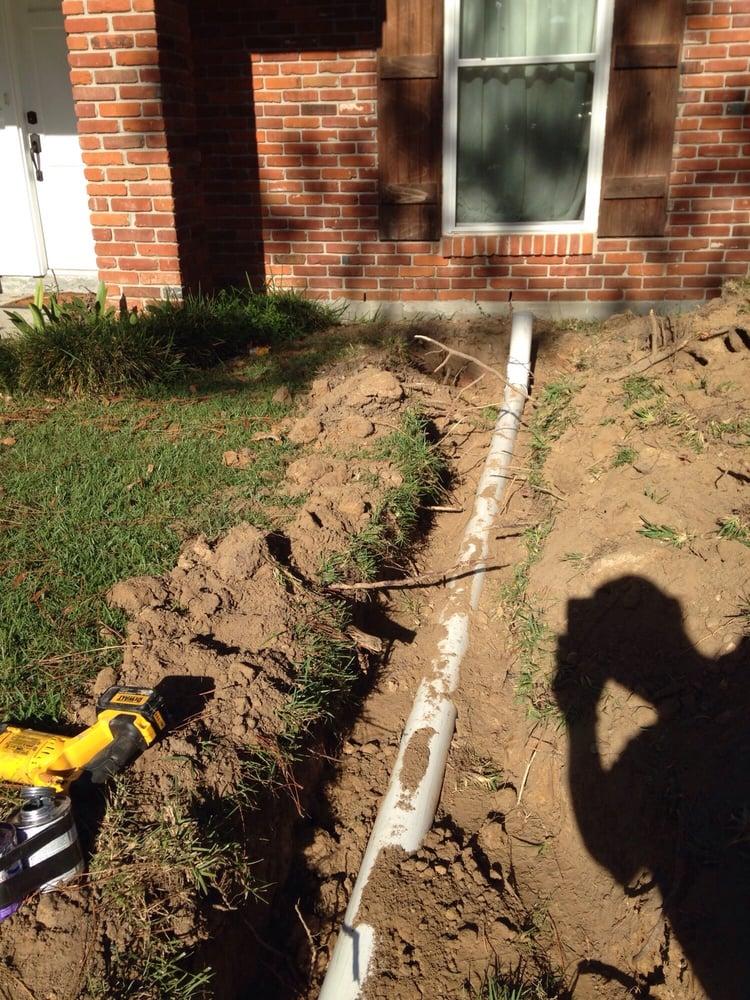 Sugar Land Plumber Mock Plumbing Outdoor Drain