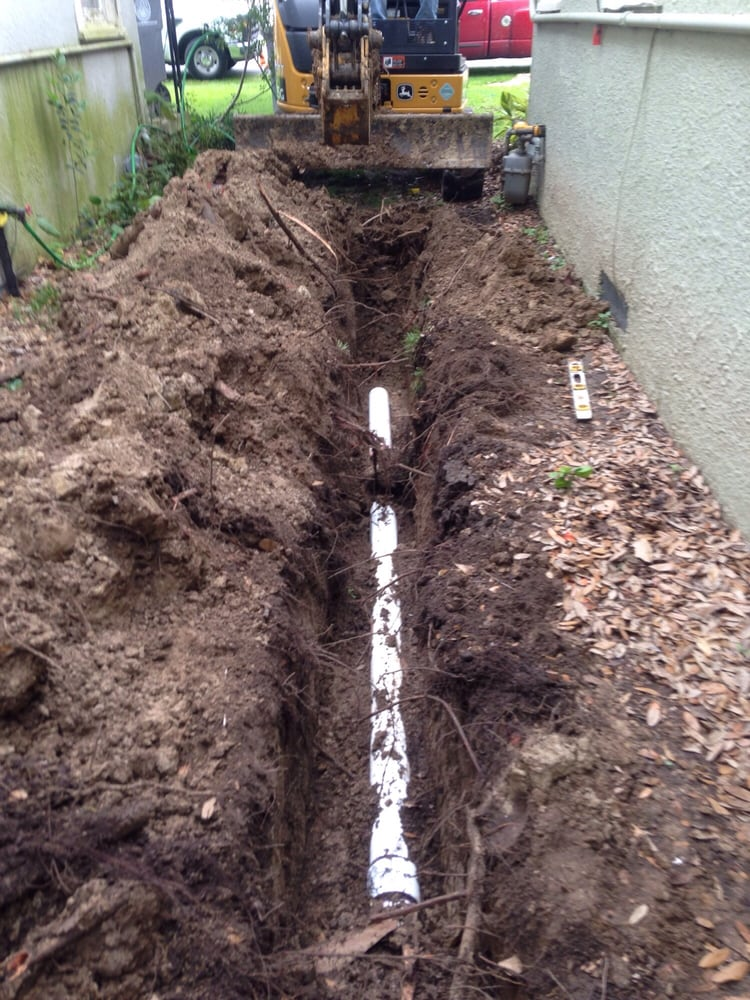 Sugar Land Plumber Mock Plumbing Outdoor Drain 3