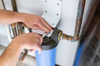 Sugar Land Plumber | Mock Plumbing Filter Change